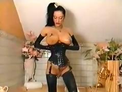 corset leather