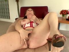 big natural tits cowgirl