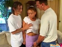 3some babysitter
