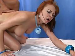 oil redhead