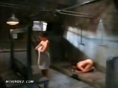 prison shower