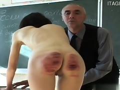 college spanking