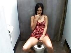 oil toilet