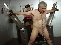 old man torture