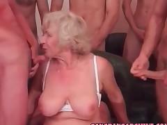 gangbang granny