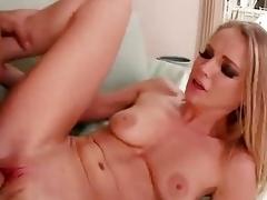 cougar cum on tits