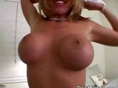 cum on tits fake tits