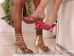 feet strap-on